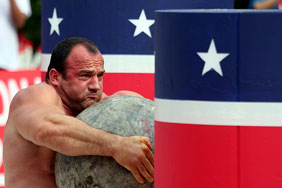 A strongman competition. Pic: Jason Mears