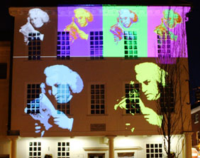 Part of the display planned for Samuel Johnson's birthday celebrations in Lichfield