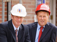Mick Pountney and John Curtiss