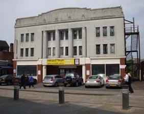 The former Regal Cinema in Lichfield