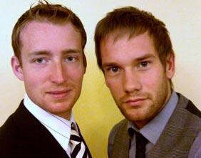 Steven Humpherson and Tom McCarron
