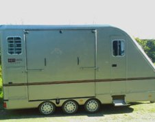 The Equi-trek trailer that was stolen in Lichfield