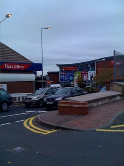 The new Tesco Extra in Lichfield. Pic: Steve Lightfoot