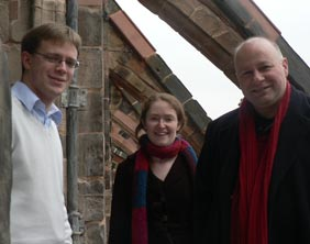 Philip Scriven, Cathy Lamb and Martyn Rawles