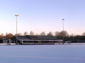 A snowy Scholars Ground