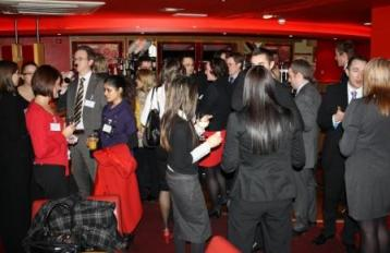 The Young Professionals networking event