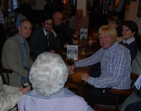 Michael Fabricant speaking to Streethay residents. Pic: Harry Warburton