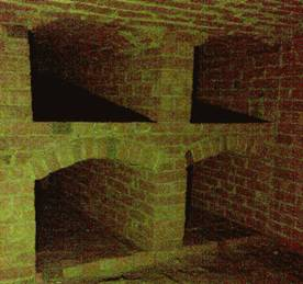 The hidden chamber at St John the Baptist Church