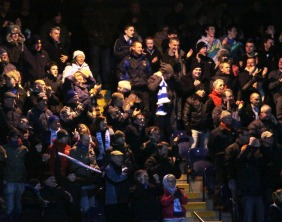 Chasetown FC's supporters. Pic: Dave Birt