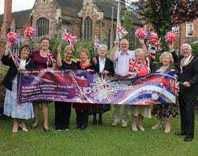 Sponsors of Lichfield Proms in Beacon Park