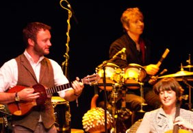Penguin Cafe performing at the Lichfield Garrick. Pic: Mark Zaccaria
