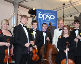 Members of the British Police Symphony Orchestra