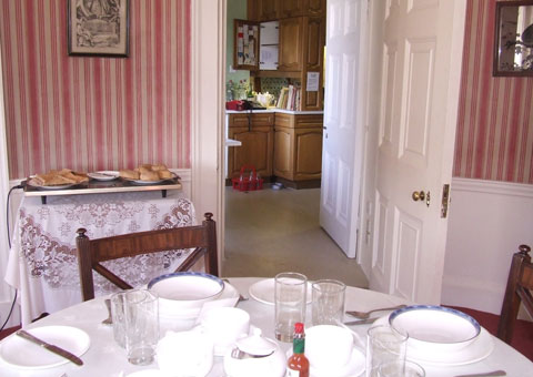 Lord Lichfield's kitchen