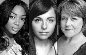 Zaraah Abrahams, Louisa Lytton and Wendi Peters