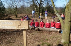 The outdoor classroom at Gentleshaw Common