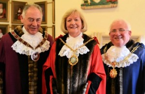 Cllr Bob Awty, Cllr Janet Eagland and Cllr Brian Bacon