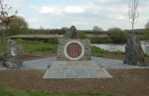 The Combined Operations Forces memorial at the National Memorial Arboretum