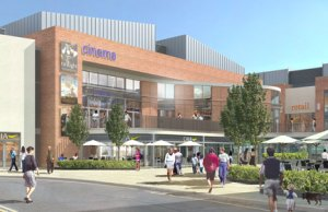 An earlier artist's impression of the Friarsgate development