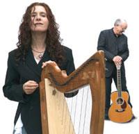 Maire Ni Chathasaigh and Chris Newman