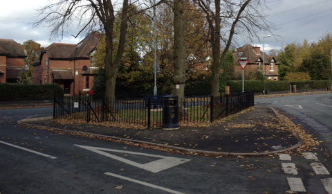 Princes Park in Burntwood