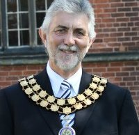 Cllr David Leytham during his time as chairman of Lichfield District Council
