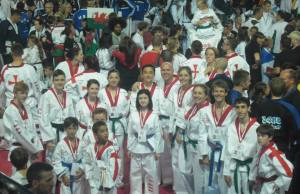 Lichfield Tae Kwon Do Club at the World Championships 2013