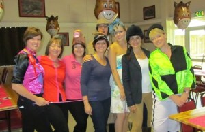 Lichfield Ladies Circle members at their race night