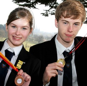 Emma Harris and Alex Blackham