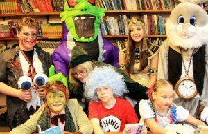 Maple Hayes students in their World Book Day costumes