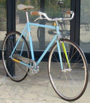 The bespoke bike