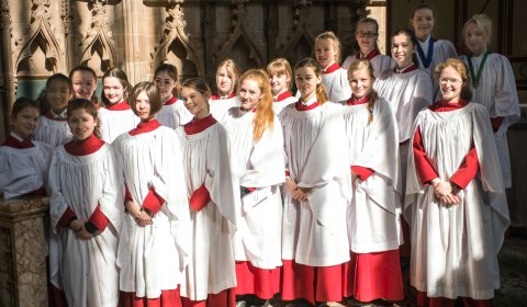 Lichfield Cathedral's girl choristers