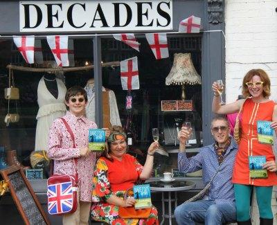 Nick Baker, Denise Baker, Ian Davies and Rachel Duncan from the Lichfield Players