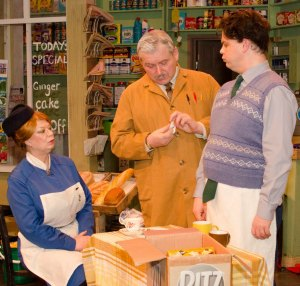 Gary Simmons as Arkwright, Jon Hall as Granville and Mary Singh as Nurse Gladys