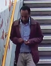 One of the CCTV images released by British Transport Police
