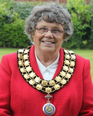 Cllr Norma Bacon, chair of Lichfield District Council