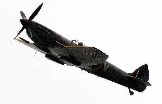 An historic Spitfire