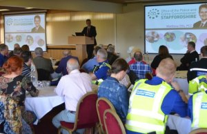 Police and Crime Commissioner Matthew Ellis outlining his vision for the Neighbourhood Watch scheme