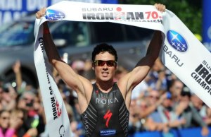 Ironman world champion Javier Gomez