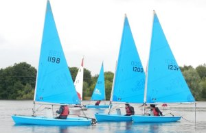Burton Venture Trust youngsters on the water with Manor Park Sailing Club