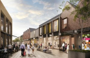 An artist's impression of the new-look Friarsgate development