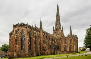 Lichfield Cathedral. Pic: David Iliff
