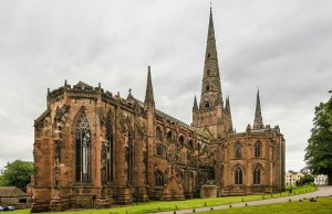 Lichfield Cathedral. Pic: David Iliff