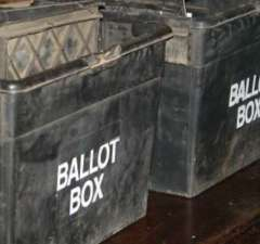 Ballot box. Pic: Anthony Karanja