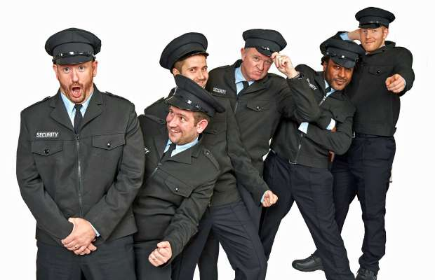 Phil Bourne, Ben Green, Patrick Jervis, Dave Hill, Fidel Lloyd and Mark Johnson