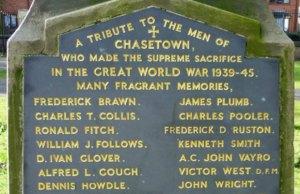 The Chasetown War Memorial