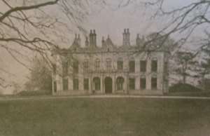 An image of Packington Hall from the 1900s