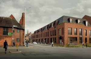 An artist's impression of the new Friarsgate development where Tempest Ford previously stood