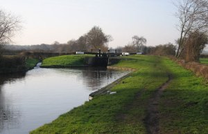 The Trent and Mersey Canal near Common Lock. Pic: Frank Smith