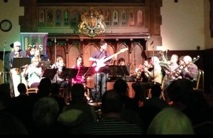 Blast Off performing at the Lichfield Guildhall