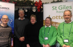 The launch of the new Lichfield Garrick and St Giles Hospice link-up